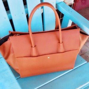 New Cognac Leather Bag